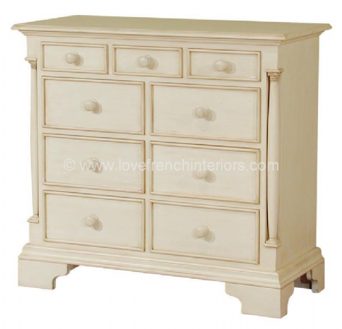Roseline Nine Drawer Chest